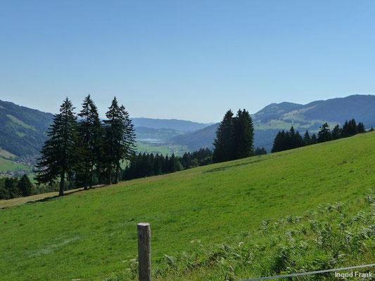 Blick Richtung Thalkirchdorf