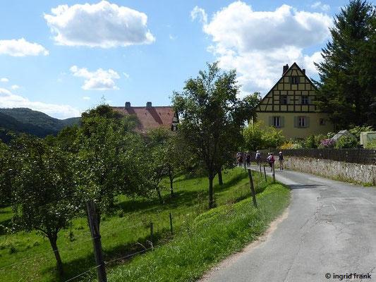 Blick Richtung Streitberg