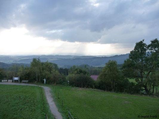 Blick vom Höchsten Richtung westlicher Bodensee