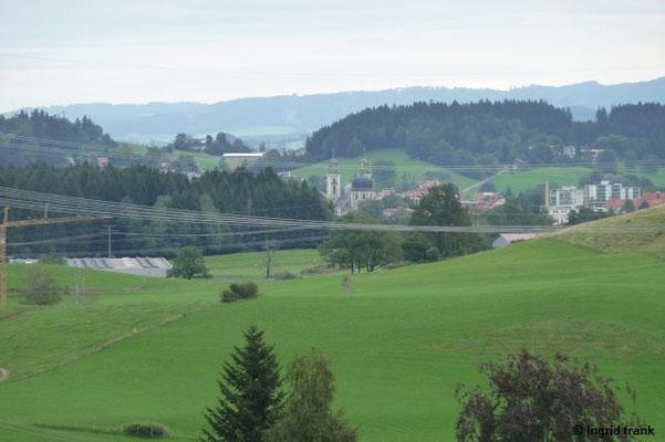 Blick nach Lindenberg