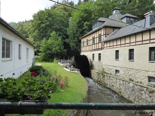 Clodra-Mühle in der Nähe von Berga