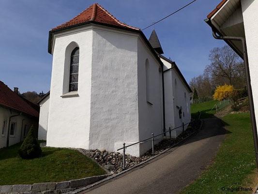 """Wallfahrtskapelle """"St. Magnus und Agatha"""" in Staig"""