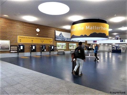 Bahnhof in Täsch