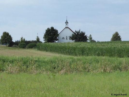 Blick zur Ruhe-Christi-Kapelle