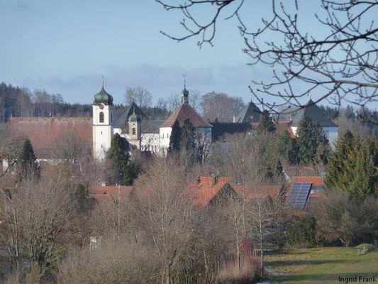 15.01.2012-Blick auf Schloss Wolfegg