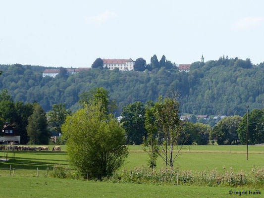 Blick auf Schloss Zeil