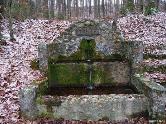 Am Antoniusbrunnen im Baienfurter Wald