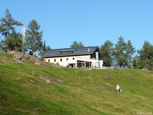 Fraganter Schutzhütte in der Goldberggruppe. Kärnten