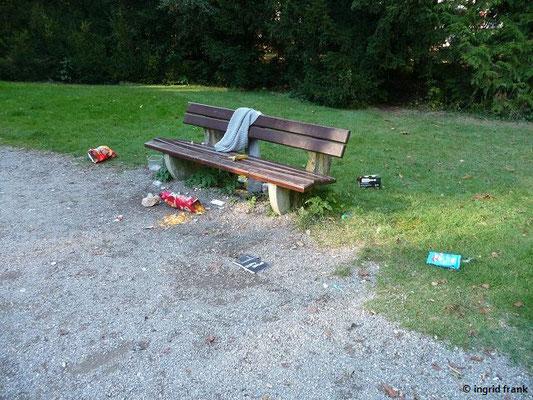 Stillleben im Schlosspark