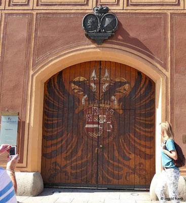 Fürst Fugger Privatbank Eingang Adlertor