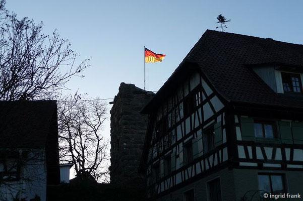 Fronhofen mit Turmruine