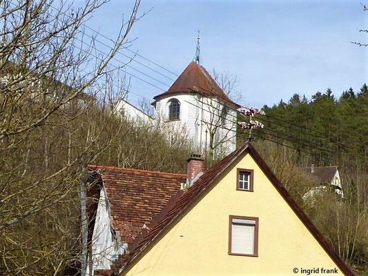 Blick zur St. Magnus-Kapelle