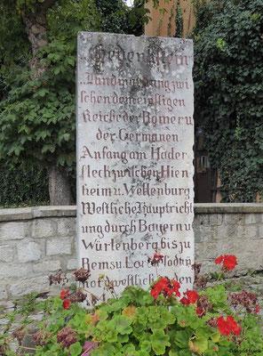 Limes-Gedenkstein in Kipfenberg
