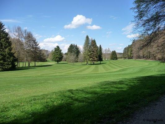 Am Golfplatz von Bad Waldsee