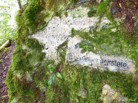 Über den Rauchenbergersteig ins Schambachtal