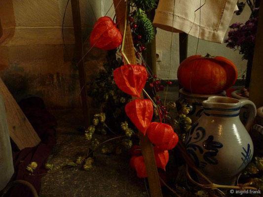 Physalis alkekengi - Gewöhnliche Blasenkirsche, Lampionpflanze