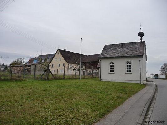 Wegkapelle St. Peter und Paul in Köpfingen