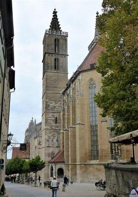 St. Jakobskirche mit dem Heilig-Blut-Altar von Tilmann Riemenschneider
