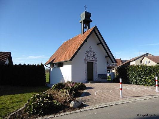 Neue Kapelle Hintermoos