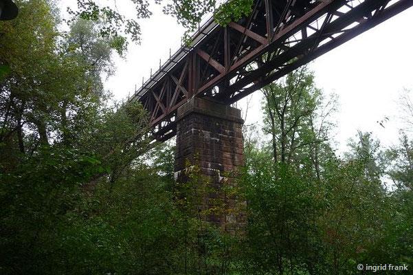 Eisenbahnbrücke über die Argen bei Wangen