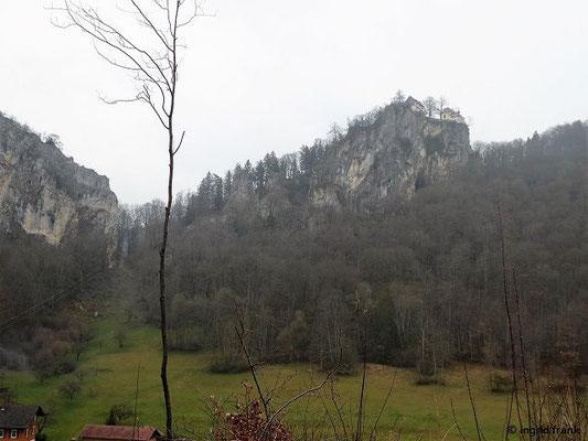 Schloss Bronnen (vom Sperberloch aus)