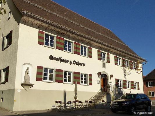 Gasthaus mit historischer Vergangenheit: Gerichtsstätte, Pranger, Tanzsaal, Brauerei...