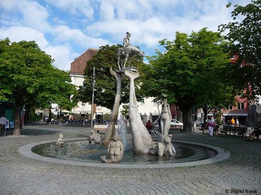 """""""Der Bodenseereiter"""" von Peter Lenk"""