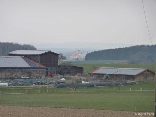 Blick auf das Kloster Reute