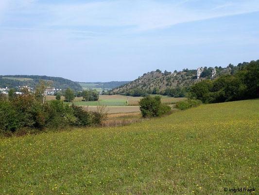 Blick zurück Richtung Dollnstein