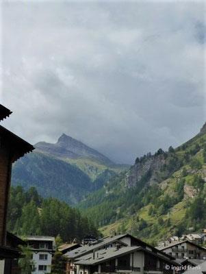 Nochmaliger Blick zum Matterhorn