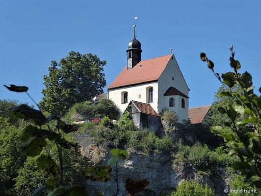 Klaussteinkapelle, Gemeinde Ahorntal