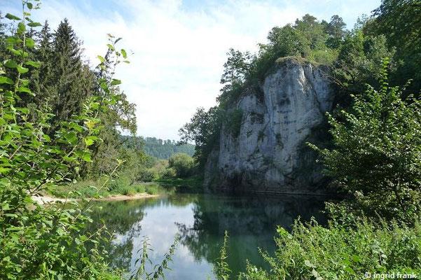 Der Amalienfelsen im Klosterfelsengarten