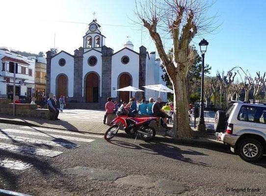 Gemeindekirche San Vicente Ferrer in Valleseco