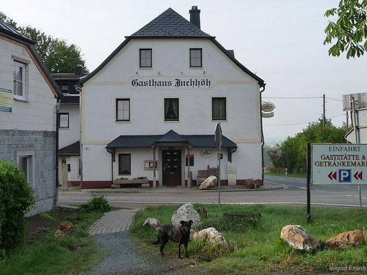 Gasthaus Juchhöh bei Hirschberg/Saale