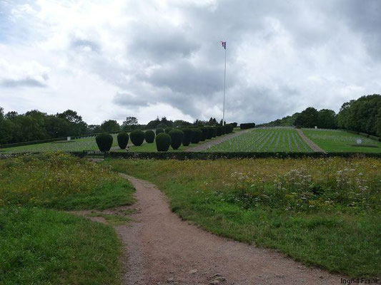 Friedhof der Gedenksstätte Hartmannswillerkopf