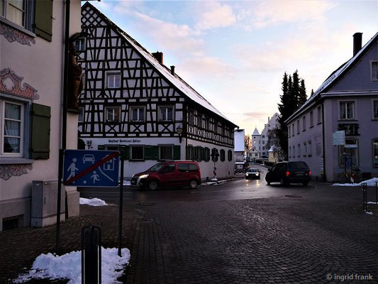 Blick zum Alten Schloss