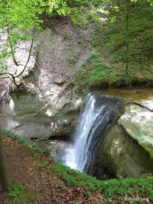 Der Wasserfall des Buttenmühlebachs