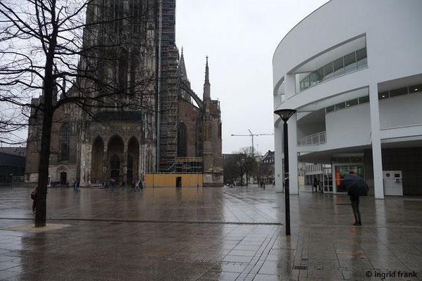 Ulmer Münster mit Stadthaus