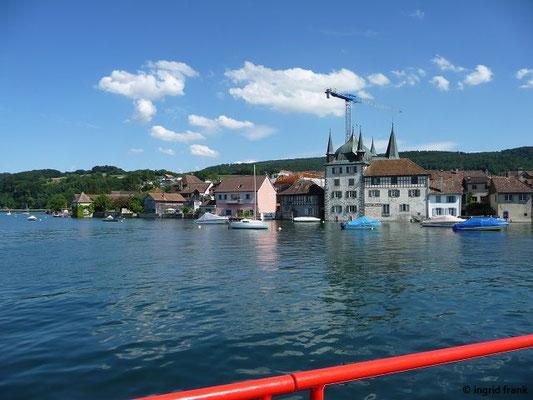 Blick vom Schiff aus nach Steckborn