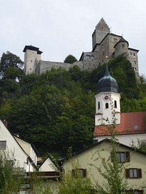 """Kipfenberg, Burg und Kirche """"Maria Himmelfahrt"""""""