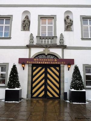 Kißlegg, Neues Schloss Haupteingang