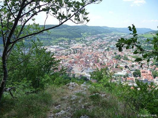 Blick auf Albstadt-Ebingen