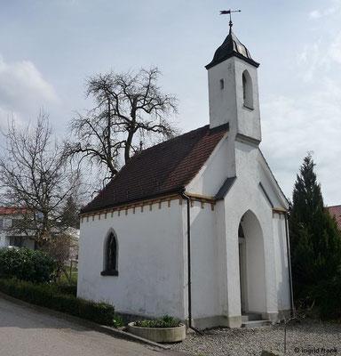 Antonius-Kapelle in Niederwangen-Humbrechts