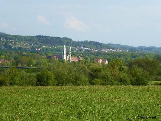 Blick auf Kloster Weißenau