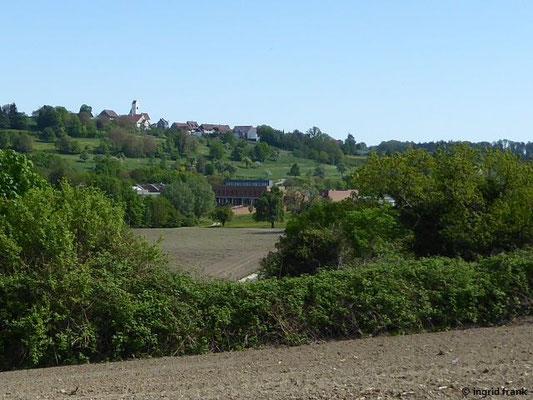 Blick auf Salem College und Aufkirch