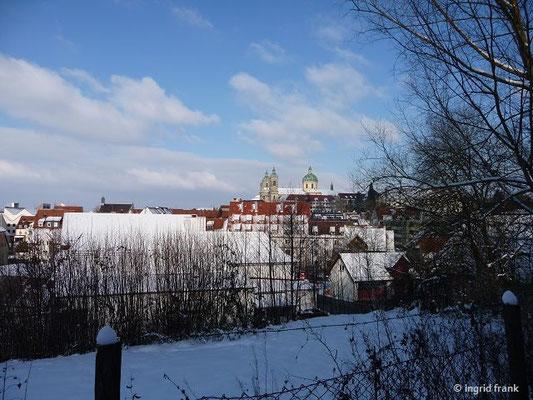 Die Basilika von Süden her gesehen