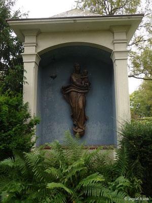 Auf dem Wangener Friedhof