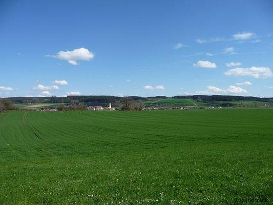 Blick auf Haisterkirch