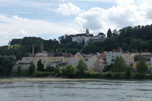 Die Innstadt von der Altstadt aus gesehen