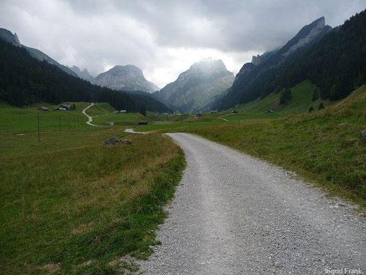 Rückweg nach Brülisau